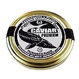"Best Caviars - 純ロシア産最高級キャビア""BLACK DIAMOND""ROYAL PREMIER 50g(年200個限定生産) Review"