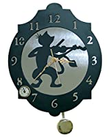 イメックスザフォックス11327時計 - 猫のバイオリン、374 x 312 mm