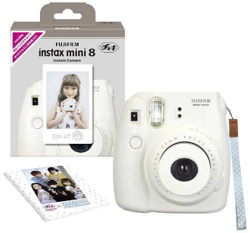 RoomClip商品情報 - FUJIFILM インスタントカメラ チェキ instax mini 8 ホワイト INS MINI 8 WHITE N