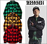 (ゼファレン)ZEPHYREN BLOCK CHECK SHIRT L/S -Resolve- シャツ XL RED