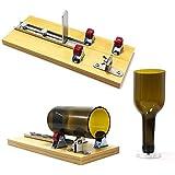 TOPTOMMY ボトルカッター ボトルカッティングマシン ガラスカッター ガラス切断機 サイクルツール DIY 花瓶 燭台