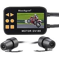 DV188 オートバイ 車用 2.7インチ ドライブレコーダー 前後カメラ 1080P 防水レンズ ループ録画 Gセンサー 130°広角