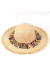 2018新品 麦わらハット レディース 日よけ帽子 手作り帽子 ストロー パナマ 帽子 女性 ガールズ 幅広い  ビーチキャップ ポムポムハット