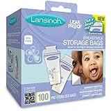 Lansinoh–母乳ストレージバッグ100ct BPAフリーWLM