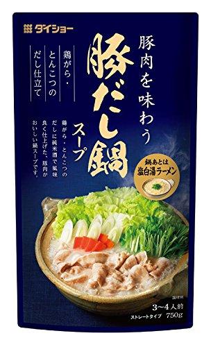 ダイショー 豚だし鍋スープ(750g)