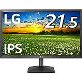 LG モニター ディスプレイ 22MK430H-B 21.5インチ/フルHD/IPS 非光沢/HDMI端子付/ブルーライト低減機能/FreeSync・DASモード搭載