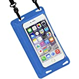 DIVAID Lite iPhone 防水ケース IPX8 スマホ iPhone6s iPhone6 iPhone5s / ブルー