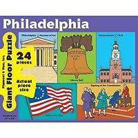 Philadelphia Giant Floorパズル、24ピース