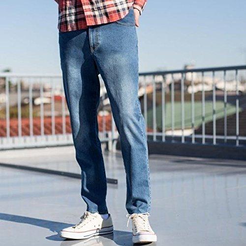 コーエン(メンズ)(coen) 【セットアップ企画】ストレッチデニム5ポケットイージーパンツ【COBALT/LARGE】