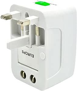 TAUWELL 電源コンセント 安全旅行充電器 海外旅行用変換プラグ 多国コンバーター ACアダプタイギリス標準 アメリカ標準 欧州標準 オーストラリア標準対応