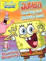 Sponge Bob★Absorbing Adventures(スポンジ・ボブ)JUMBO Coloring & Activity Book(ぬりえ&アクティビティブック)【並行輸入品】