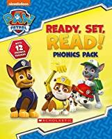 Ready, Set, Read! 12 book phonics box (Paw Patrol)