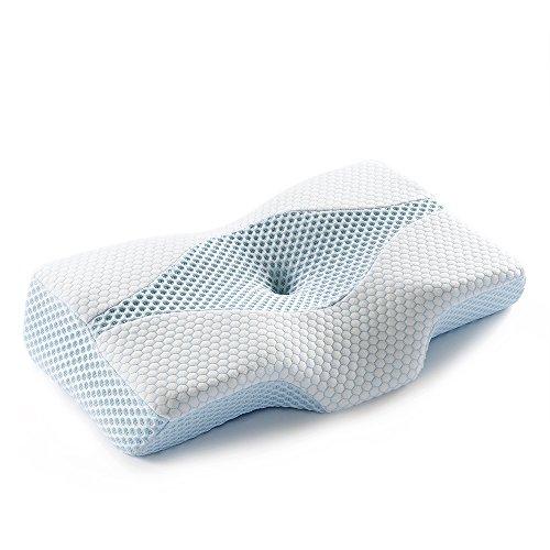 新世代 重力解放枕 低反発 人気安眠枕 首・頭・肩をやさしく支える健康枕 いびき防止 頸椎サポート 肩こり対策 頭痛改善 通気性抜群 洗える ピロー 【メーカー直営・1年保証付】