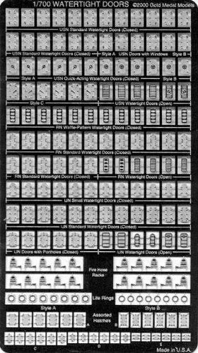 1/700 ハッチ/ホース/救命リング (PE22)