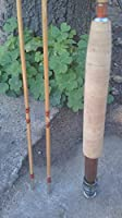 """bamboo fly rod 6'6"""" for #3 line weight,2 piece with 2 tips [並行輸入品]"""