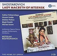 Shostakovich: Lady Macbeth of Mtsensk by Gedda, Petkov Rostropovich / Vichnevskaia