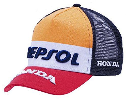 【 MOTO GP 】 REPSOL HONDA HRC レプソル ホンダ オフィシャル メッシュ CAP