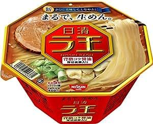 日清 ラ王 背脂コク醤油 112g×12個
