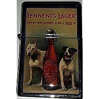 ビール Tennents Lager / オイルライター