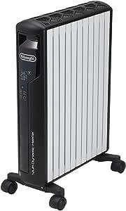 デロンギ(DeLonghi) マルチダイナミックヒーター ピュアホワイト+マットブラック [10~13畳用] Wi-FiモデルiPhone操作対応 MDH15WIFI-BK