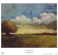 Montauk Morning I by Adam Rogers–21x 20インチ–アートプリントポスター