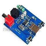 Rasbee オリジナル PCM2704 USBサウンドカード DACデコーダボード 同軸光 HIFIデコーダボード USB DACターンSPDIF カードデコーダボードサウンド アナログ出力 3.5ミリメートル 1個 [並行輸入品]