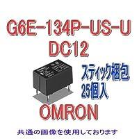 オムロン(OMRON) G6E-134P-US-U DC12 (25個入) マイクロリレー NN