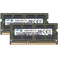 サムスン純正 PC3-12800(DDR3L-1600) SO-DIMM 4GB×2枚組 ノートPC用メモリ DDR3L対応モデル (電圧1.35V & 1.5V 両対応)