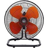 広電 45cm 工業扇風機 樹脂羽根 据置き型 組立簡単 KSF4535-H