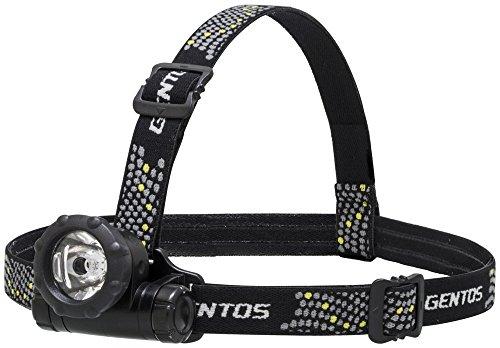 GENTOS(ジェントス) LEDヘッドライト 【明るさ80ルーメン/実用点灯12時間】 GTR-831D