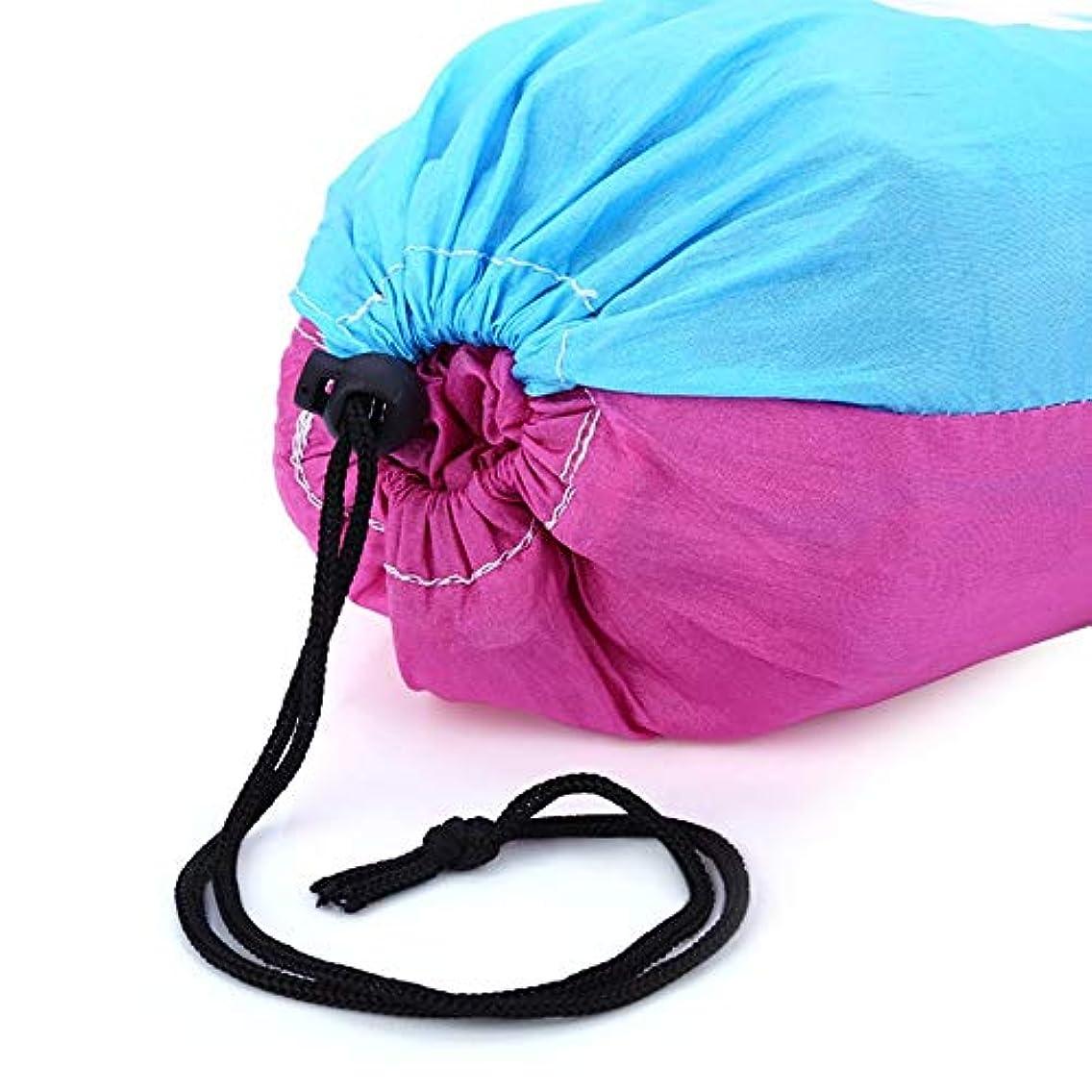 配る命令的ジャニス旅行キャンプのための携帯用独身者の蚊帳のハンモックの掛かるベッド