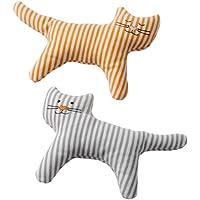 IKEA LEKA 00266231 ガラガラ ネコ 2個セット