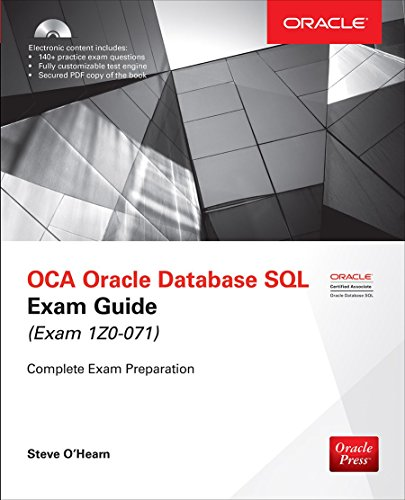 Download OCA Oracle Database SQL Exam Guide (Exam 1Z0-071) (Oracle Press) 1259585492