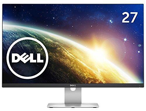 Dell ディスプレイ モニター S2715H 27インチ/フルHD/IPS光沢/6ms/VGA,HDMI/スピーカ内蔵/USBハブ/フレームレス/3年間保証