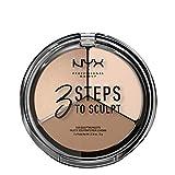 NYX(ニックス) 3ステップス トゥー スカルプト フェイス スカルプティング パレット 01 カラーフェア