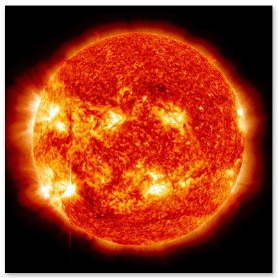 NASAの宇宙科学写真太陽の車ビニールステッカー???選択サイズ (B) Regular: 4