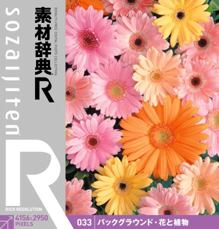 ピッチャープレーヤー謝罪素材辞典[R(アール)] 033 バックグラウンド?花と植物