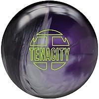 Brunswick Tenacity Bowling ball-ブラック/シルバー/パープルパール