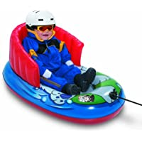 Aqua Leisure冬Inflatable Kiddie文字牽引and Pull雪そりチューブ修理キットと頑丈な/耐久性ラップ背もたれ付き子、安全、快適走行、36インチ