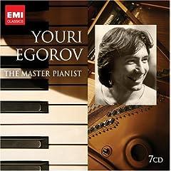 ユーリ・エゴロフEMI録音集 Youri Egorov - The Master Pianist(7枚組)のAmazonの商品頁を開く