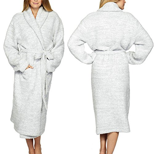 (Barefoot Dreams) Barefoot Dreams bathrobe / long gown Cozychic Heathered Adult Robe [parallel import goods]