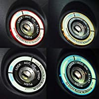 WHRWHR 福井KX 5モンデオフォードフェルナンドカーニバルセダン以上の点火リングの明るいステッカー装飾ステッカー車ステッカー
