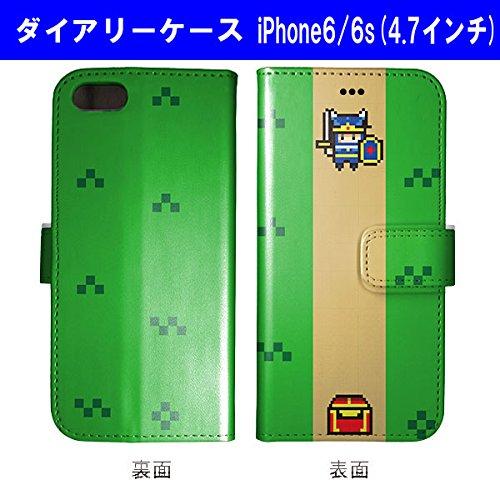 手帳型 iPhone6/6S ケース ゲームキャラクター ド...