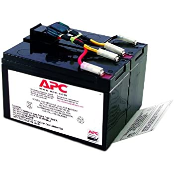 APC SUA500JB/SUA750JB交換用バッテリキット RBC48L