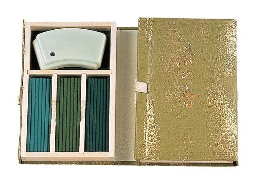 いま試験スクリュー香木の香りのお香 森の香 スティック60本入