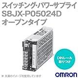 オムロン(OMRON) S8JX-P05024D スイッチング・パワーサプライ (オープンタイプ/DINレール取りつけタイプ 50W)(AC100-240V入力/24V4.2A出力) NN