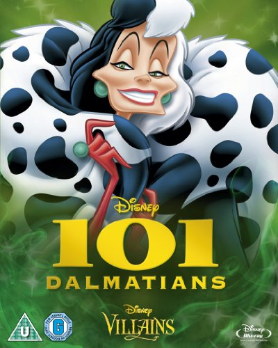 101 Dalmatians (Special O-ring Artwork Edition) 101匹わんちゃん(特別悪役パッケージ)[リージョンフリー]