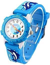Vinmori子供腕時計 クオーツ 多色の3D超可愛い 新款 小学生 男の子 女の子