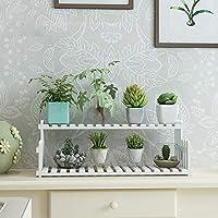 純木の花の立場、植物の立場/多肉植物の鍋の棚/植物の収納ラック、机の会議室の書店,B,30cm