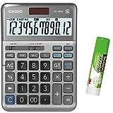 カシオ CASIO 12桁 軽減税率電卓 税計算 デスクタイプ DF-TK20 特典付きセット